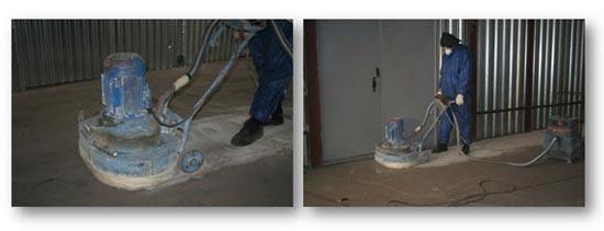 Подготовка бетонного пола к покраске