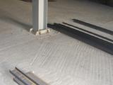 Полиуретановый наливной пол в торговом зале
